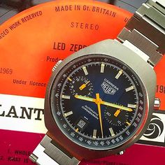Whole lotta love for @donfle 's Heuer Carrera #vintageheuer #heuer #tagheuer #heuercarrera #carrera #calibre11