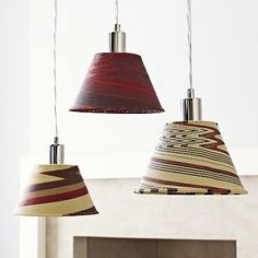 These are the colors I want in my kitchen!  I love the Wezandla Wire Pendant on westelm.com