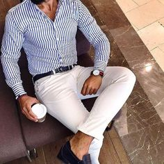 Casual outfit for men - Herren-Outfit für das Büro - # Mode Masculine, Stylish Men, Men Casual, Casual Attire, Casual Pants, Look Man, Herren Outfit, Fashion Mode, Fashion Styles