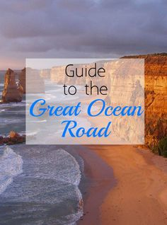 Considering driving the GREAT OCEAN ROAD this summer? Here's some of my MUST see suggestions for what to see, do and eat on your road trip! | #Australia #Victoria #GreatOceanRoad |