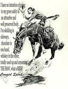 cowgirls view on life