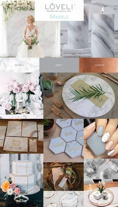Marble Wedding Inspiration - LoveLi
