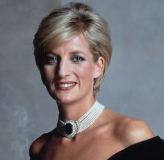 a stunningly beautiful Diana, Princess of Wales