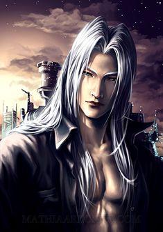 ff7: Sephiroth by MathiaArkoniel on deviantART