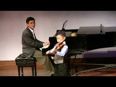 Seitz Concerto No. 2, 3rd movement; Prof. Flaniken's student recital—See more of young violinist #sonB_from_beandoctor