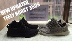 3c48034029f1a Original version Yeezy boost 350 turtle doves and pirate black