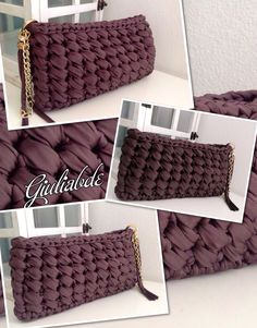 Discover thousands of images about Filiz&Ömer Kaya İnstagram Sayfam Crochet Clutch Bags, Bag Crochet, Mode Crochet, Crochet Handbags, Crochet Purses, Crochet Clothes, Linen Stitch, Yarn Bag, Fabric Yarn
