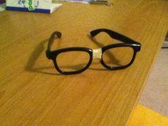 Creative DIY nerd glasses