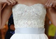 Ayesha Depala beaded wedding gown | Photo by Angelica Glass - we love  @Ayesha Williams Chaudhri #Wedding #Bride #fashion