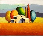 """Sveta Esser Hand Signed and Numbered Limited Edition Giclee on Canvas: """"Sanctuary"""""""