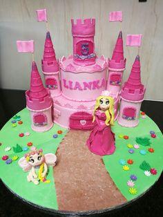 Princess Castle_ sugar art_fondant figurine South Africa email: liankaerasmus@gmail.com