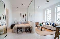 50 modern studio apartment dividers ideas (49)