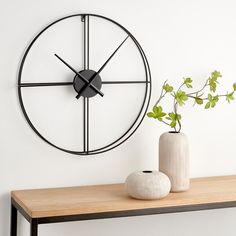 Silver Wall Clock, Gifts For Office, Decoration, Home Projects, Living Spaces, New Homes, Indoor, Home Decor, Beautiful Things