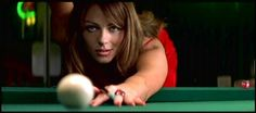 Elizabeth Hurley as the Devil in-BEDAZZLED. Love this movie!!!!!