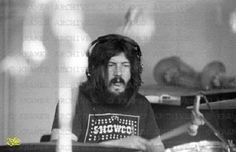 """Led Zeppelin worked on songs for their """"Houses of the Holy"""" album during a few weeks of sessions with the Rolling Stones' mobile studio, a truck with a Drum Drawing, Houses Of The Holy, Whole Lotta Love, John Bonham, Greatest Rock Bands, Robert Plant, Teenage Dream, Great Bands, Led Zeppelin"""