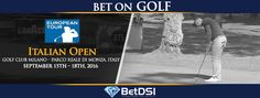 The Open d'Italia takes place at Golf Club Milano in Parco Reale di Monza, Italy from September through September This event, also known as the Italian Open, has been part of the European Tour since it began in Golf Events, Golf Betting, European Tour, Tours