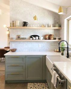 Design Jobs, Home Design, Design Design, Interior Design, New Kitchen, Kitchen Dining, Kitchen Decor, Design Kitchen, Wooden Kitchen