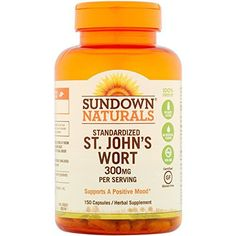 """Sundown Naturals Standardized St. John's Wort is an herbal supplement that supports a calm and relaxed mental state. Our Standardized St. John's Wort capsules support a feeling of tranquility and promotes a healthy emotional balance.       Famous Words of Inspiration...""""When ... more details at http://supplements.occupationalhealthandsafetyprofessionals.com/herbal-supplements/st-johns-wort/product-review-for-sundown-naturals-standardized-st-johns-wort"""