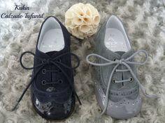 Zapatos niño - blucher charol ante de Landos en color azul marino, gris, camel y negro. Comprar blucher niño online. Kukin Calzado Infantil