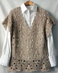 Fabulous Crochet a Little Black Crochet Dress Ideas. Georgeous Crochet a Little Black Crochet Dress Ideas. Crochet Jacket, Crochet Cardigan, Crochet Top, Crochet Designs, Crochet Patterns, Beautiful Crochet, Crochet Clothes, Pulls, Crochet Stitches
