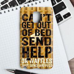 Super Cute Funny Waffle Pancake Food Samsung Galaxy Note 4 Case   casefantasy