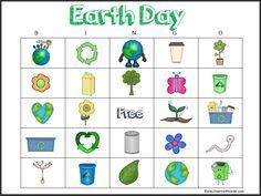 Free Earth Day Bingo Printable   Play 2 Learn with Sarah