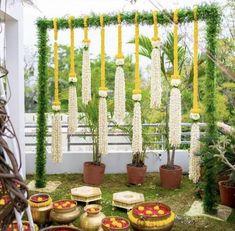 Wedding Backdrop Design, Wedding Hall Decorations, Desi Wedding Decor, Marriage Decoration, Backdrop Decorations, Wedding Ideas, Wedding Mandap, Floral Decorations, Flower Decoration