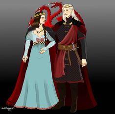 Rhaegar x Lyanna by chillyravenart on DeviantArt Game Of Thrones Dragons, Game Of Thrones Houses, Game Of Thrones Art, Rhaegar And Lyanna, Black Dreads, I Love Games, Son Luna, Fire And Ice, Give It To Me