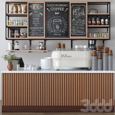 Cafe Shop Design, Coffee Shop Interior Design, Bakery Design, Restaurant Interior Design, Decoration Restaurant, Bakery Decor, Coffee Shop Counter, Coffee Shop Aesthetic, Home Building Tips