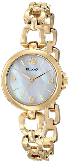 Women watches : Gold watches for women Bulova