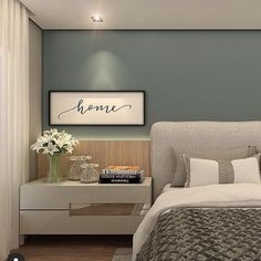 These are sometimes accents in interior decoration, sometimes elements that contribute to the balance of the room. Latest Bedroom Design, Rustic Bedroom Design, Hotel Bedroom Decor, Interior Design Living Room, Living Room Decor, Beautiful Bedroom Designs, Modern Master Bedroom, Master Room, Decoration