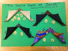 Children's Bible Lessons: Lesson - The Twelve Sons of Jacob (Song)