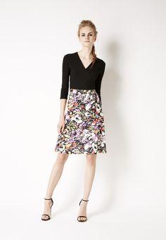 Leota Faux Wrap Dress (very similar - maybe same - as Amandine Faux Wrap Dress that Stitch Fix distributes) <3