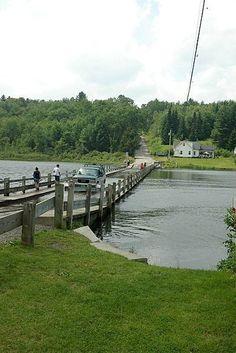 Floating Bridge of Brookfield, VT