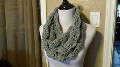 Glamorous Lace Crochet Cowl