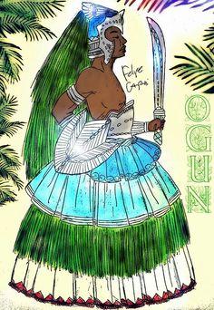 Ogun by Felipe Caprini