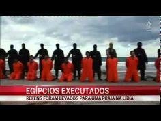 Perseguição aos cristãos   Estado Islâmico decapita 21 cristãos egípcios