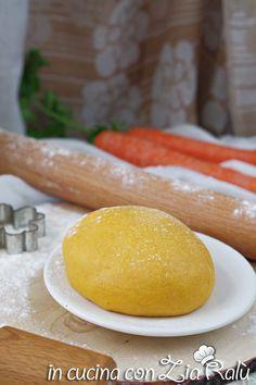 Pasta frolla all'olio alle carote - In cucina con Zia Ralù
