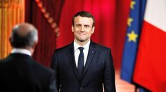 Emmanuel Macron became France's youngest president this morning, entering the Élysée Palace and bidding farewell to François Hollande on the red carpet outside. Macron, 39, arrived in a mist of light rain a week after his victory against Marine Le Pen, which many believe has left the country deeply divided.