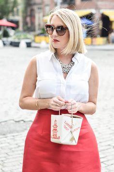 Kate Spade Chinese Take Out Bag...
