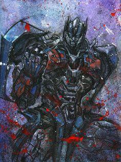 Transformers Age of Extinction Optimus Prime Render