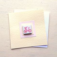 Bicycle Card Pink, Birthday Card, Greeting Card, Blank Card, Magnet Card, Cycling Card, Card for Cyclist, Card for Girl Pink Birthday, Birthday Cards, Bicycle Cards, Cellophane Wrap, Card Card, Plastic Waste, Bicycle Design, Blank Cards, Girl Gifts