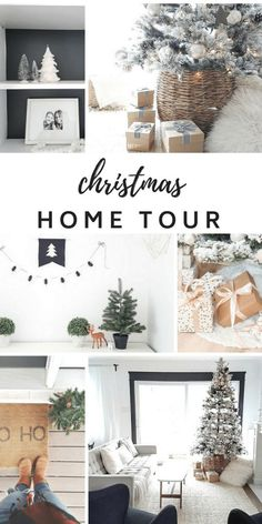 - Our 2017 Holiday Home Tour! Copy the minimalist, neutral christmas decor in your own house. : - Our 2017 Holiday Home Tour! Copy the minimalist, neutral christmas decor in your own house. French Christmas, Christmas On A Budget, Christmas Room, Christmas Holidays, Winter Holiday, White Christmas, Holiday Fun, Scandinavian Christmas Ornaments, Christmas Decorations