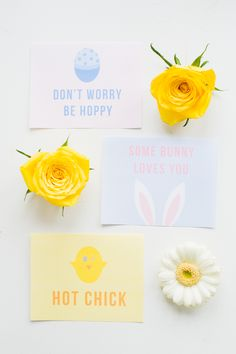 Easter Printables, Free Printables, Easter Puns, Some Bunny Loves You, Chocolate Bunny, Coloring Easter Eggs, Cards For Friends, Crafts To Do, Easter Crafts