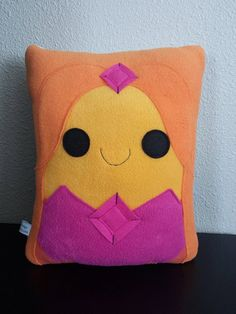 Flame Princess pillow plush cushion