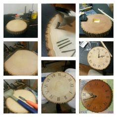 DIY Clock Woodworking
