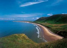 My closest beach - Rhossili bay. Only a 10 minute drive from my house. Come and visit!