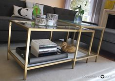 VITTSJO COFFEE TABLE IKEA HACK: EVERYBODY'S DOING IT! - Love Cheria