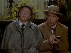 """The Private Eyes"" - - classic Don Knotts and Tim Conway - - a family favorite!  Inspector Winship and Dr. Tart"