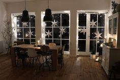 DIY: így készültek a karácsonyi csillagok